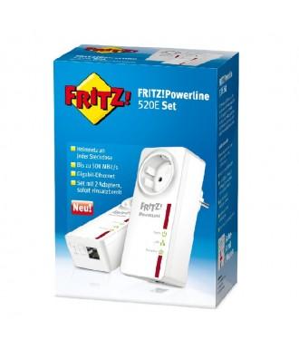 FRITZ!Powerline 520E (set 2 stuks)
