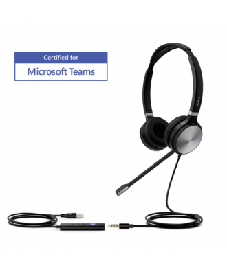 Yealink UH36 STEREO USB-A bedrade headset (MS Teams)
