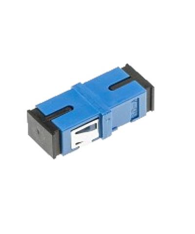 Glasvezel koppelblok BLAUW (2 x SC-PC)