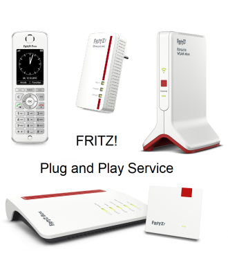 FRITZ Plug and Play configuratieservice (30 min)
