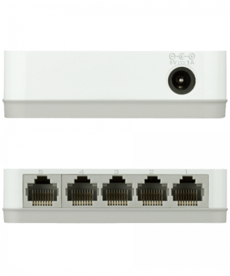 D-Link 5-poorts Gigabit Easy Desktop Switch