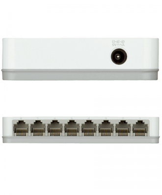 D-Link 8-poorts Gigabit Easy Desktop Switch