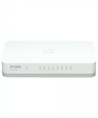 D-Link GO-SW-8G 8-p 10/100/1000 GB switch Desktop