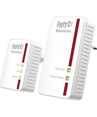 FRITZ!Powerline 540E WLAN Set (2 stuks)