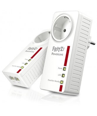 FRITZ!Powerline 1220E (set 2 stuks)