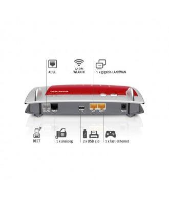 FRITZ!Box 7330 ADSL2+ WiFi-N VoIP DECT PBX