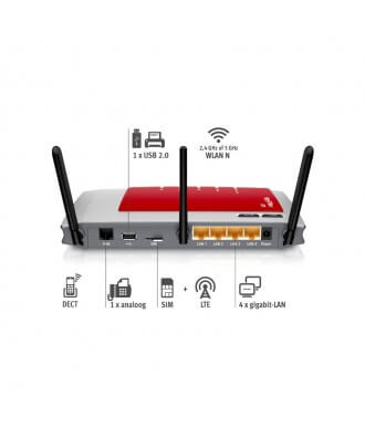 FRITZ!Box 6840 LTE (4G) WiFi-N VoIP DECT PBX